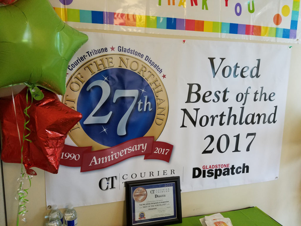 Infinity Chiropractic & Acupuncture Best of Northland 2017 -2